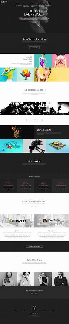 Personal Web Personal Web Html Website Template Download Html