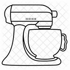 kitchenaid icon of line style available in svg png eps