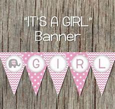 Baby Shower Banner Pink Grey Baby Shower Banner Digital Bumpandbeyonddesigns