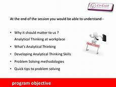 Analytical And Problem Solving Skills Analytical Skill Amp Problem Solving