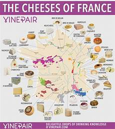 French Cheese Chart Map The Iconic Cheeses Of France And Now For Something