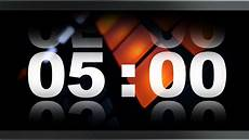 5 Minute Timer Countdown Timer 5 Minute V 409 Timer With Sound Music