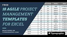 Free Project Management Template 20 Agile Project Management Templates In Excel Free And