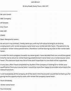 Resignation Letter Going Back To School Going Back To College Resignation Letter Examples