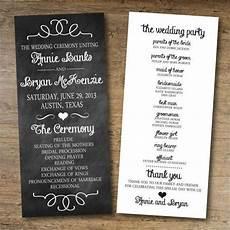 Program Template For Wedding 8 Chalkboard Wedding Program Templates Psd Vector Eps