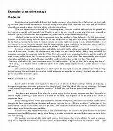 Examples Of A Personal Narrative Essay Personal Essay 7 Free Samples Examples Format