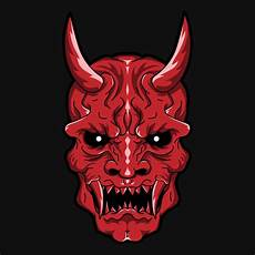 Demon Mask Designs Artstation Red Oni Demon Design Starquake Designs