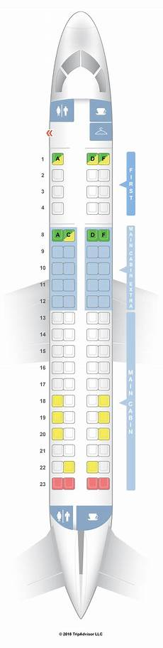 American Eagle Seating Chart Seatguru Seat Map American Airlines Embraer Erj 175 E75 V1