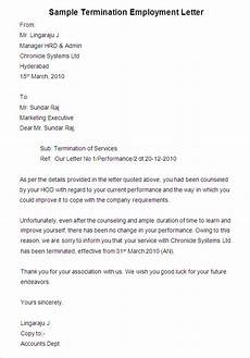 Termination Employee Letter 38 Free Termination Letter Templates Pdf Doc Free