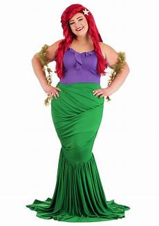 Size Chart For Mermaid Undersea Mermaid Costume For Plus Size Women