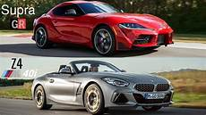 2020 toyota supra vs bmw z4 2020 toyota supra vs bmw z4 2019