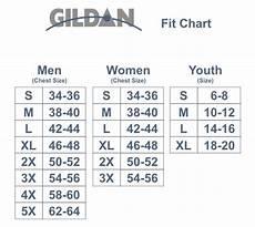 Gildan Youth Medium Size Chart Gildan Unisex Size Chart Google Search Personalized