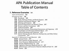 Apa Style Table Of Contents Table Of Contents Apa Style Purdue Brokeasshome Com