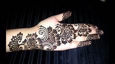 Hennagir Designs Arabic Floral Henna Simple Flowers Fusion Style Mehndi