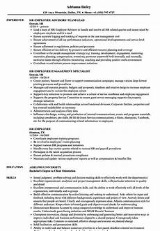 Employee Resume Resume For It Employee