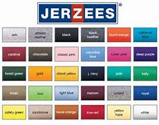Jerzees Color Chart Jerzees Products Pinterest Shirts Colors And T Shirts