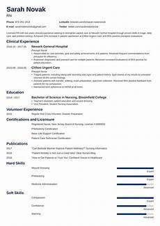 New Grad Rn Resumes New Grad Nursing Resume Clinical Experience New New Grad