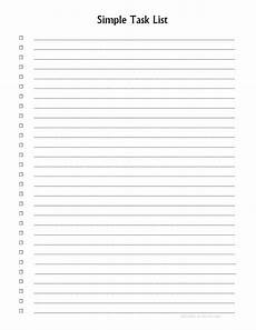 Numbered Lined Paper Numbered List Printable Examples And Forms