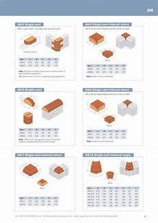 Standard Brick Size Chart Brick Driveway Image Brick Dimensions Standard