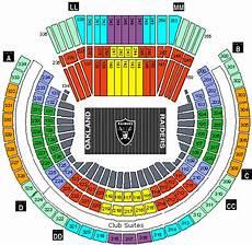 Raiders Tickets Seating Chart 1 4 Oakland Raiders Vs Green Bay Packers Tickets Preseason
