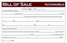 Bill Of Sale For Car In Texas Free Texas Car Bill Of Sale Template Off Road Freedom