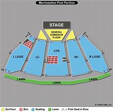Merriweather Post Seating Chart 2018 Merriweather Post Pavilion Seating Chart Row Www