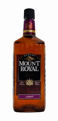 Mount Royal Light Rye Whiskey Mt Royal Light Whisky The Whiskypedia