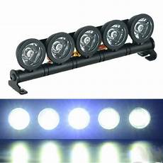 Led Light Bar For Truck Roof Alloy 5 Spotlight Rc Roof Mounted Led Light Bar For 1 10