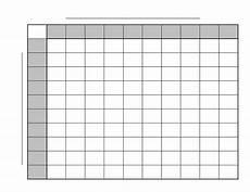 Football Square Template Printable Football Squares Football Pool Football
