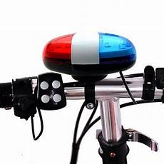 Horn Light Bicycle Electronic Horn Police Warning Siren Cycling