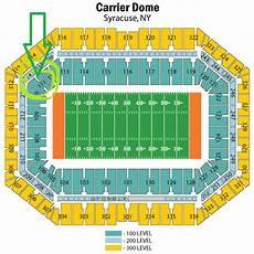 Seating Chart Carrier Dome Football The Hullabaloo Huddle A Tulane Football Blog The Ernge
