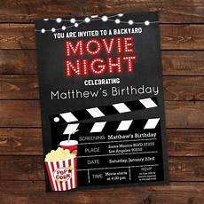 The Invitation Movie Online Free 15 Movie Night Invitation Designs Amp Examples In Psd