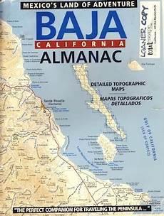 Baja Charts Baja Almanac Total Escape Map Shop