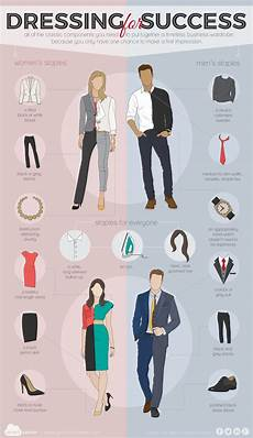 Dress For Success Tips Dressing For Success Visual Ly