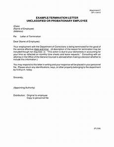 End Employment Letter End Of Employment Letter Sample Letters Free Sample