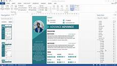 Cv Templates For Microsoft Word 2 Pages Cv With Microsoft Word Free Doc Pdf Youtube