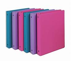 10 Inch Binder 6 Pack Of Samsill 1 Inch Round Ring Binders Only 8 22