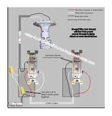 Split One Light Fixture Into Two Wiring A 3 Way Switch