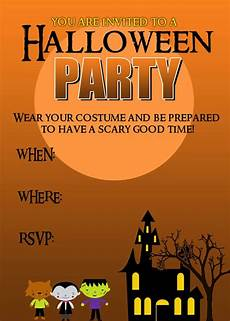 Costume Party Invitations Free Printable 20 Crafty Days Of Halloween Party Invitation Printable