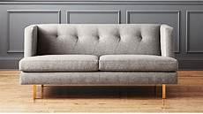 avec grey retro sofa cb2