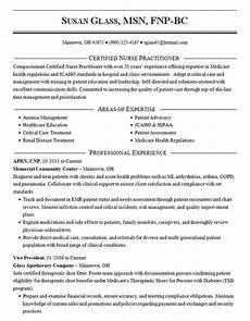 Nurse Practitioner Resume Certified Nurse Practitioner Resume Example Cnp Msn Aprn