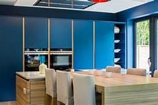 Contemporary Blue Contemporary Kitchen Design Bespoke Kitchen Kitchens