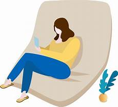 Sitting Sofa Png Image by Sofa Home Character Warm Png And Vector Image Sitting