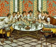 banchetti romani antropologia alimentare galateo banchetto romano