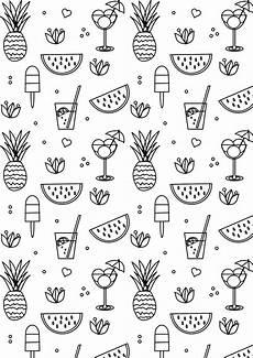 free printable summer coloring page ausdruckbare