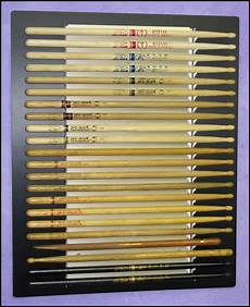 Promark Drumstick Size Chart A Nice Collection Of Neil Peart Pro Mark Sticks Drums