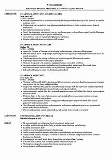 Pharmacy Resume Sample Resume For Pharmacist Resume Template Database