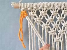 tutorial tapiz de macram 233 comando craft