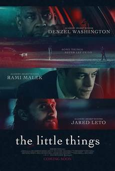 first trailer for the little things starring denzel