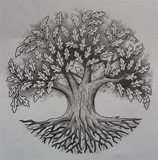 Tree Designs Tumblr 55 Latest Oak Tree Tattoos Collection